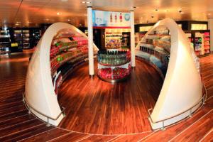 Fähre Fjordline Shop