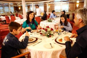 Fähre GNV Restaurant