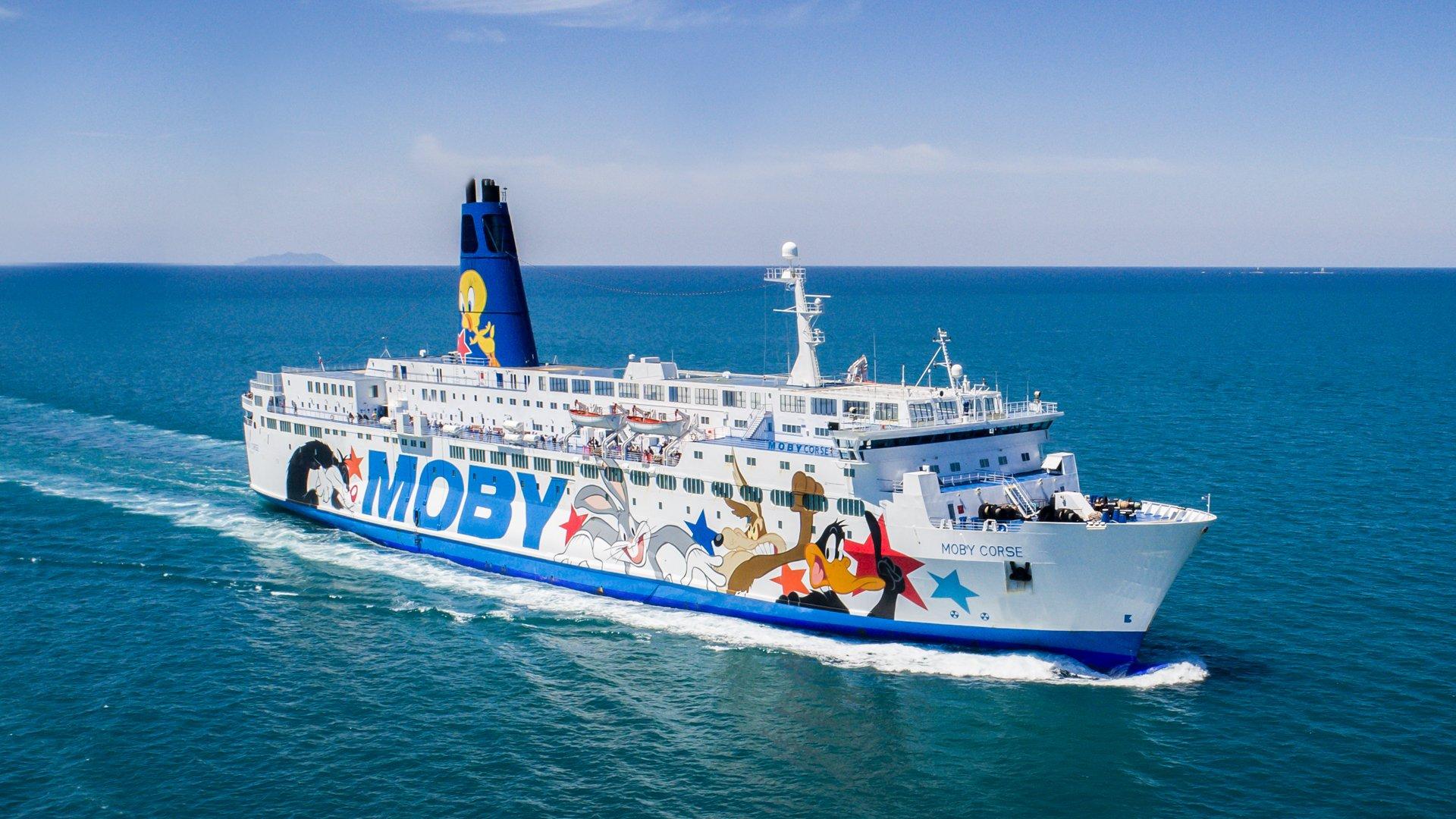 Fähre Moby Corse