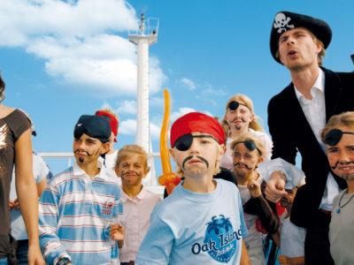 Fähre TT-Line Piraten an Bord