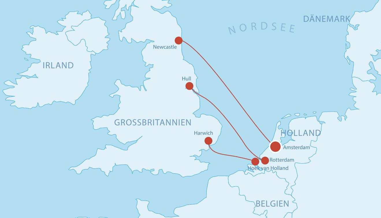 Fähren Holland