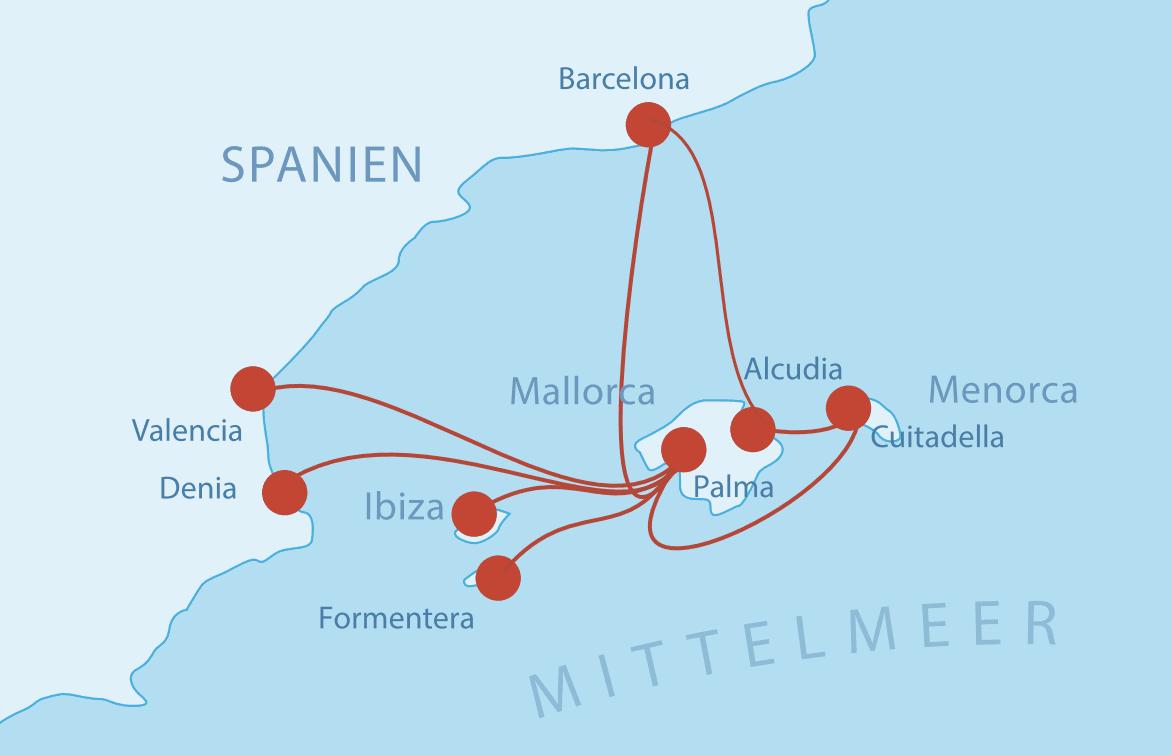 Fähren Mallorca