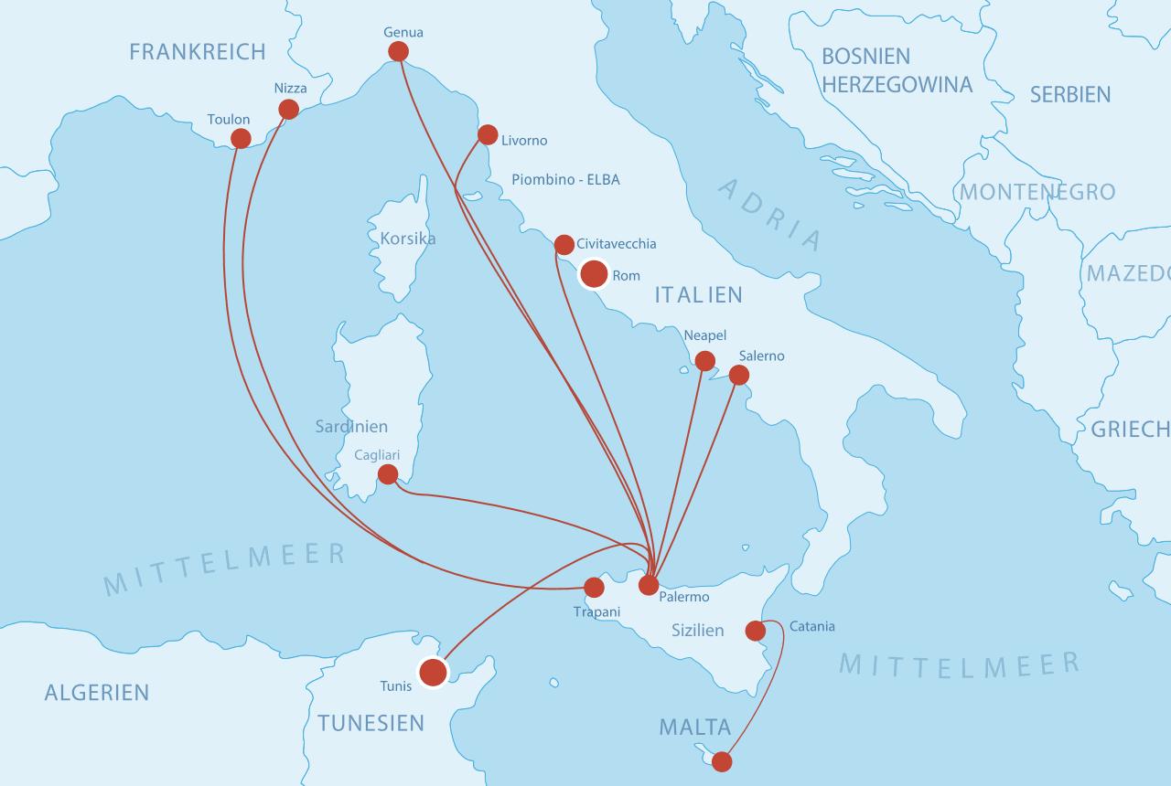 Fähren Sizilien
