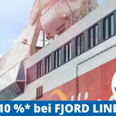 Rabatt für TCS-Mitglieder bei Fjord Line