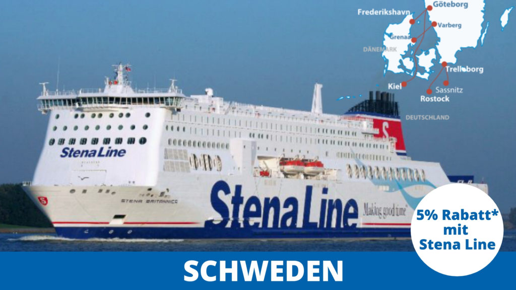 Stena Line Fähre nach Schweden
